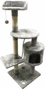 Adori Krabpaal Indy - Krabpaal - 40x40x112 cm Grijs