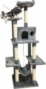 Homestyle Budget Krabpaal Lela - Krabpaal - 50x50x175 cm Grijs