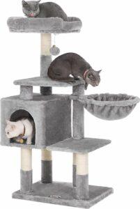 Krabpaal voor Grote Katten - Multiniveau Krabpaal - 110 cm Hoog
