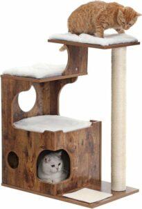 Nancy's Luxe Krabpaal Kat Bruin - Krabpaal Voor Katten 88 CM