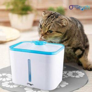 One Touch - Drinkfontein Hond-Kat - Inclusief 2 filters - 3,5 liter - Extra groot - honden - katten