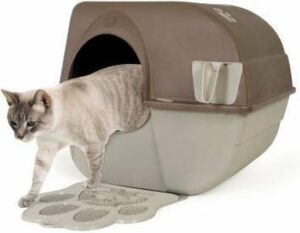 Zelfreinigende Kattenbak L + Kattenbakmat