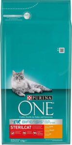 Purina ONE Sterilcat Adult - Kattenvoer Kip & Tarwe - 6 kg