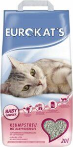 Eurokat's Babypoeder Geur - Kattenbakvulling - 20 l