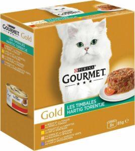 Gourmet Gold Hartig Torentje - Kattenvoer Vlees - 48 x 85 g