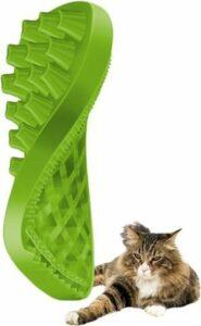 Pet+me kat borstel lang haar groen