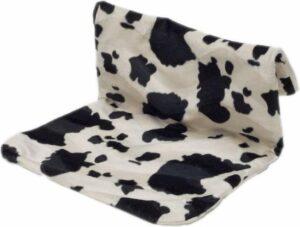 Radiator hangmat Bonfire koe zwart-wit
