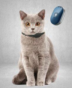 Reptrek® Minitrek GPS Tracker Voor Kat - Blauw - 4.9 x 3.3 x 1.5 cm