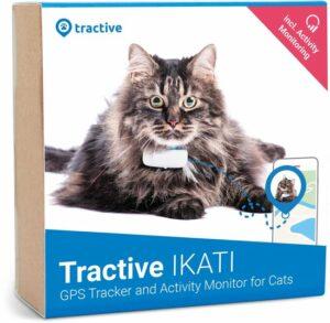 Tractive IKATI GPS tracker kat Editie 2020. Kat gps-tracker voor elke kattenhalsband - met activiteitentracker