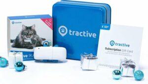 Tractive kattenhalsband met GPS