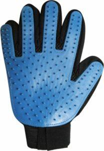 Verzorgingsborstel - Zwart-Blauw - 1 Maat - Rechtshandig
