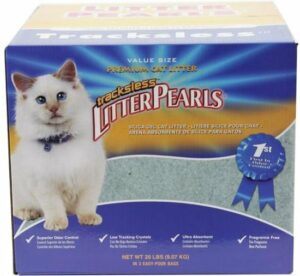 Crystal Clear Litter Pearls - Kattenbakvulling - 18,6 l