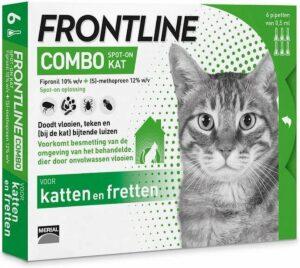 Frontline Combo Anti Vlooienmiddel en Tekenmiddel - Kat