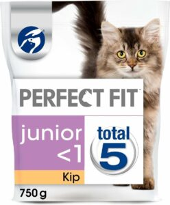 Perfect Fit Junior - Kitten Brokjes - Kip - Kittenvoer - 3 x 750g