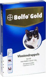 Bayer Bolfo Gold 80 Anti Vlooienmiddel