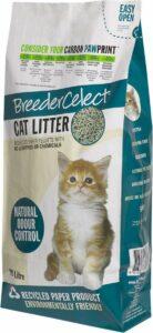 BreederCelect 100% Gerecycled - Kattenbakvulling