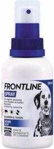 Frontline Spray Anti vlooienmiddel en tekenmiddel