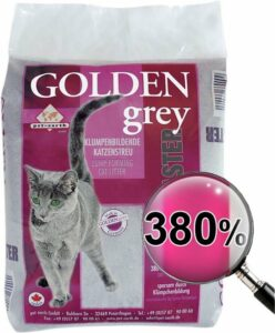 Golden Grey Silicaat Kattenbakvulling