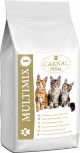 Kattenvoer Carnal Multimix 10Kg